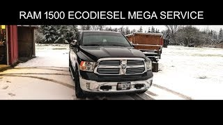 Items needed for ram  1500 ecodiesel maintenance - mega service -