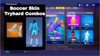 Soccer Skin Tryhard Combos & Pickaxes | Fortnite Battle Royale