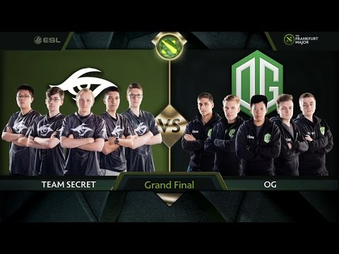 Frankfurt Major  Grand Final OG vs Team Secret game 4  Secret vs OG