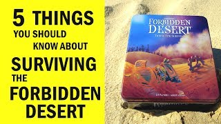 Forbidden Desert Board Game Review & Runthrough