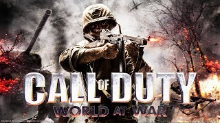 CALL OF DUTY: WORLD AT WAR All Cutscenes (Game Movie) PC 1080p 60FPS