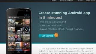 Tutorial - Come creare la vostra app senza programmare!