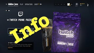 Twitch Prime Pack! How to get & Info