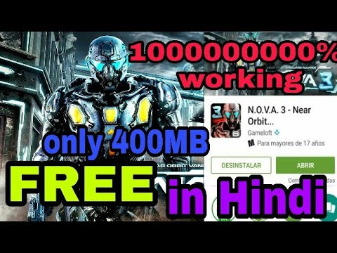 How to download and install NOVA 3 highly compressed | best website on  Android (Hindi/Urdu)