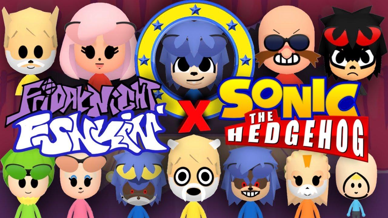 Every SONIC X FRIDAY NIGHT FUNKIN' Mii MOD EVER!