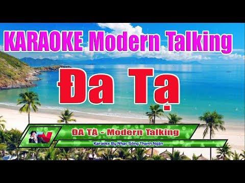 Đa Tạ Karaoke 8795 Tone Nam | Phong Cách Modern Talking Độc Và Lạ - Nhạc Sống Thanh Ngân