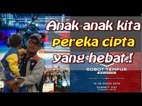 Robot ciptaan anak-anak kita | Robot Tempur | The Summit USJ | Robot wars