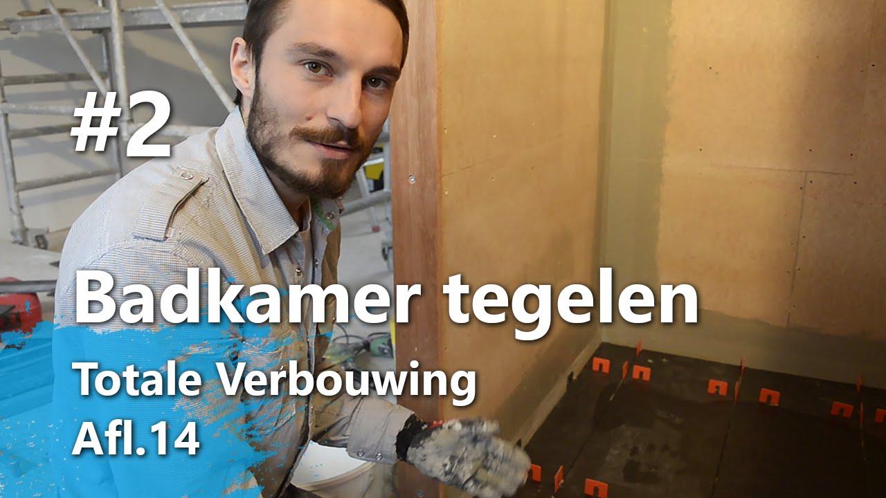 Badkamer Tegelen Part 2 - Badkamervloer tegelen (Totale Verbouwing ...