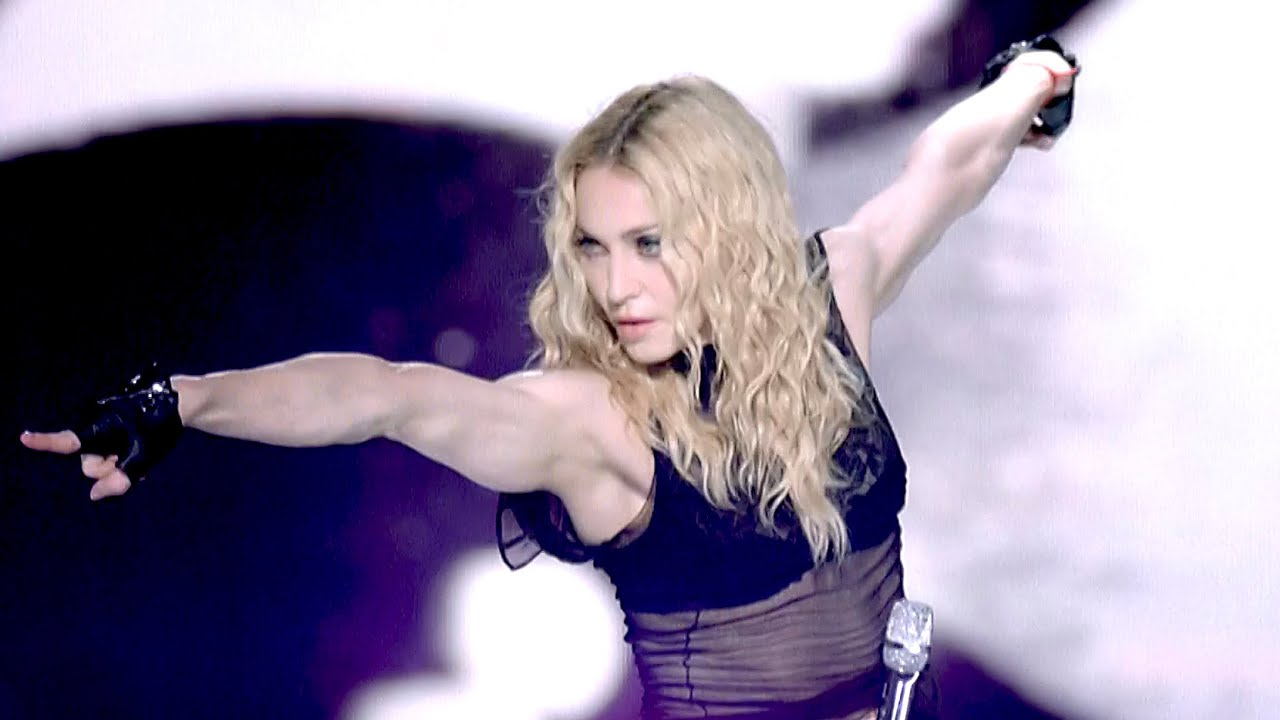 Madonna - Vogue (Live from the Sticky & Sweet Tour) - YouTube