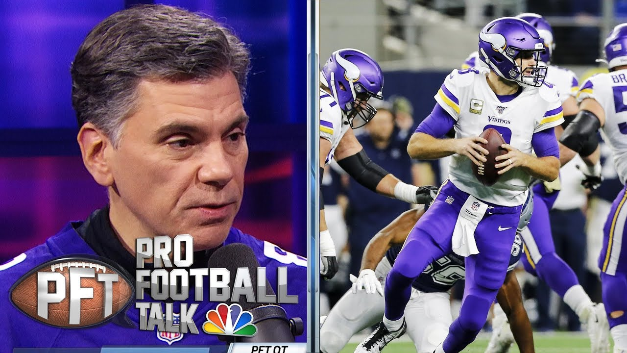 PFT Overtime: Vikings' ranking in NFC, Todd Gurley problems | Pro Football Talk | NBC Sports