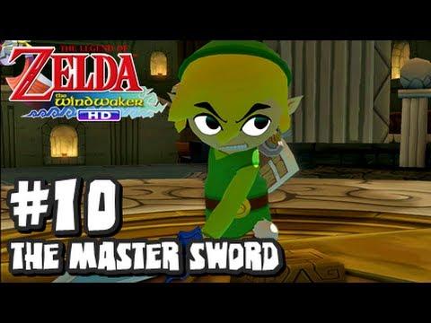 The Legend of Zelda Wind Waker HD Wii U - (2048p) Part 10 - The Master Sword