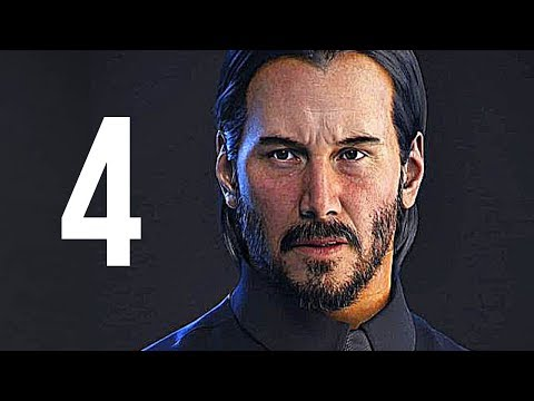 John Wick 4 Keanu Reeves Movie Trailer Concept Hd
