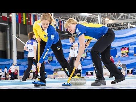 CURLING: SWE-NOR Euro Chps 2013 - Women Draw 6