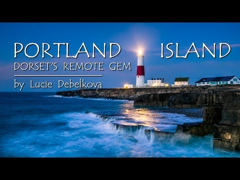 Remote Isle of Portland in Dorset, United Kingdom - Timelapse Video - 4K