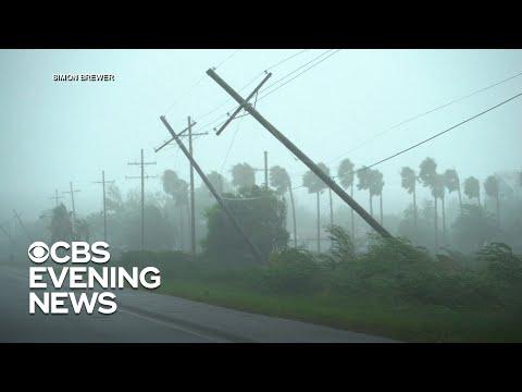 Hurricane Ida slams southeastern Gulf Coast as a Category 4 storm