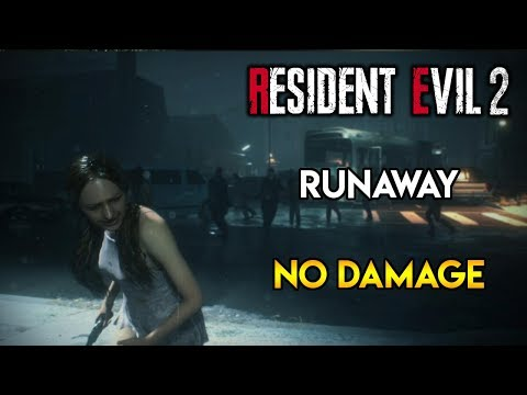 Resident Evil 2 Remake - Runaway DLC - No Damage
