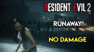 Resident Evil 2 Remake - Runaway DLC - No Damage