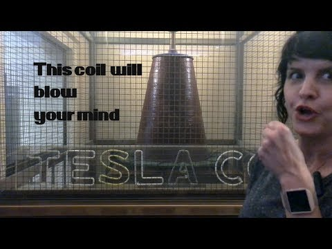 Check Out A Tesla Coil: Griffith Observatory With Me, SK