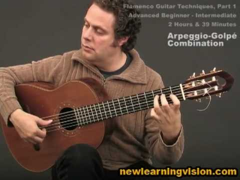 Demo of Flamenco Guitar Techniques Part 1 by Adam del Monte (Adv. Beginner-Intermediate)