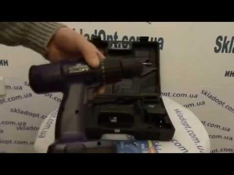 Обзор Аккумуляторный Шуруповерт 18В.  ТМ Диолд ДЭА-18Т