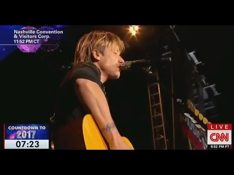 Keith Urban tribute to artists we lost in...
