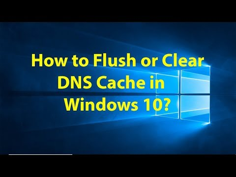 How to Flush or Clear DNS Cache in Windows 10?