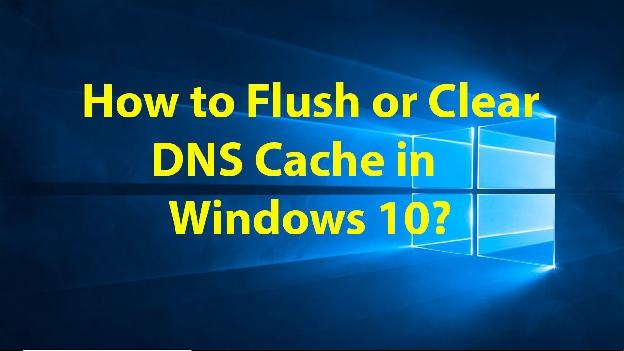 clear dns cache manually
