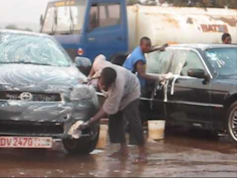At the carwash, Accra Ghana 2010