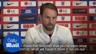 Southgate says England have improved a lot since World Cup defeat