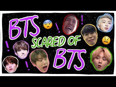 BTS BEING SCARED OF EACH OTHER