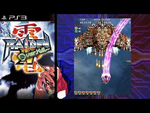 Raiden IV: OverKill ... (PS3) Gameplay |
