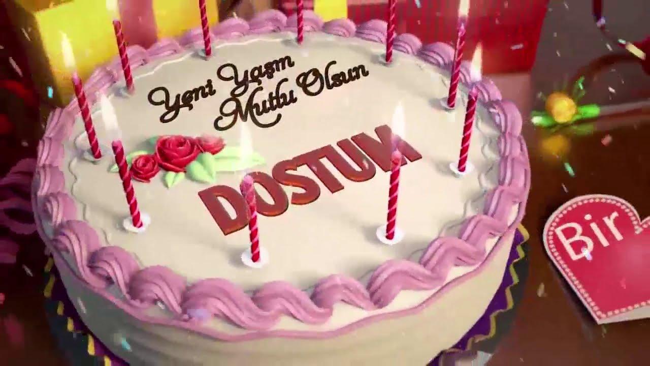 İyi ki doğdun DOSTUM- İsme Özel Doğum Günü Şarkısı (FULL VERSİYON)