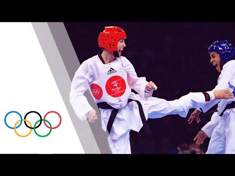 Australia's First Ever Taekwondo Olympic Gold Medal - Lauren Burns - Sydney 2000