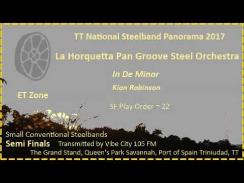 Pano SF Small 2017 - LH Pan Groove Steel Orchestra - In De Minor (Arr Kion Robinson)
