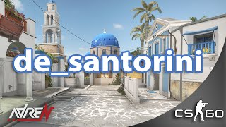 CS:GO de_santorini first impressions & walkthrough