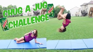 Chug a Jug Gymnastics Challenge