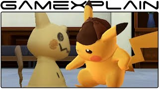 Detective Pikachu - Get Ready to Crack the Case! Trailer (Nintendo 3DS)