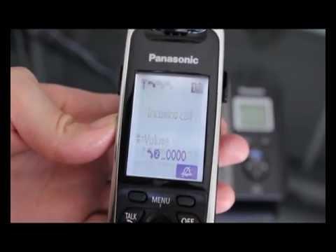 Transferring With The Panasonic Cordless Phone