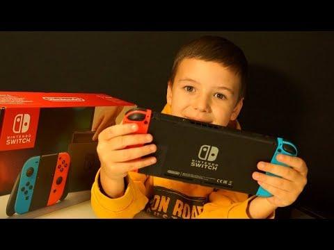 Nintendo Switch Распаковка, SnipperClips, Новая Камера GoPro HERO 5, ВЛОГ Поход в Магазин MediaMarkt