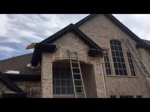 Exterior Painting Tricorn Black Sw 6258 Christian Painters Youtube