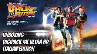 Unboxing - Ritorno Al Futuro: The Ultimate Trilogy - 4K UHD Collection 35° Anniversario