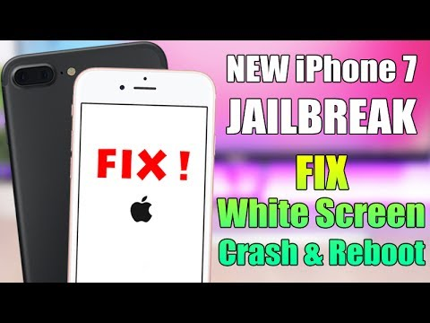 New iPhone 7 Jailbreak extra_recipe - White Screen & Reboot FIX !!!