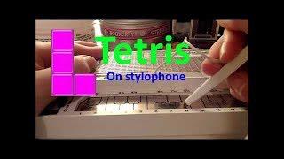 Tetris on Stylophone