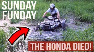 Video SUNDAY FUNDAY | ATV AND DIRT BIKE RIDING IN A MUDDY MESS + BUYING FISHING GEAR! download MP3, 3GP, MP4, WEBM, AVI, FLV Agustus 2018