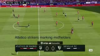 Un Choque de Ideologías - Análisis Táctico Atletico Madrid - Sevilla