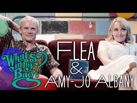 Flea & Amy-Jo Albany - What's In My Bag?