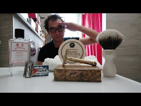 Gillette Mayfair Deluxe - Gillette SP - Taylor Organic - Zenith 507A MDL - DR Harris Marlborough