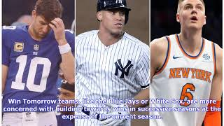 The Yankees need to embrace being World Series favorites
