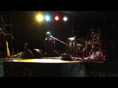 Dubravko Lapaine - didgeridoo magic in Ibort 2010