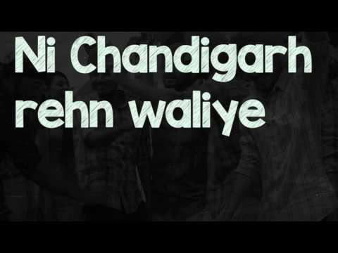 Lyrical Video | Chandigarh Rehn Waaliye | Jenny Johal | Raftaar | Speed Records